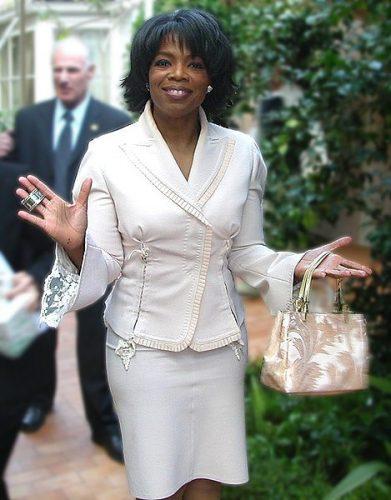 Oprah Winfrey, America's favorite female entrepreneur